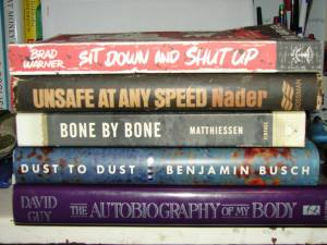 2014 Brilliant Books Book Spine Poetry entry