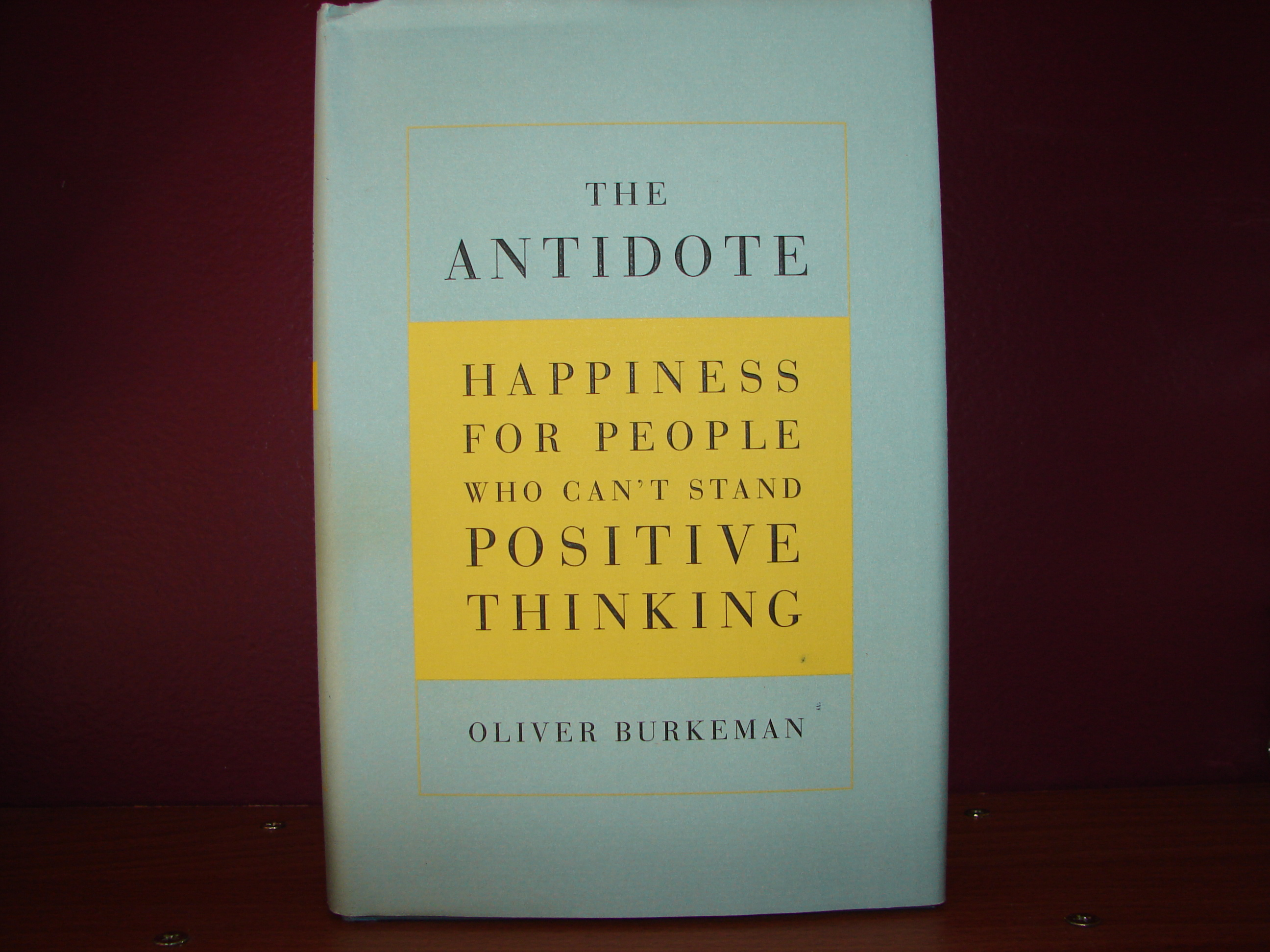 the antidote happiness